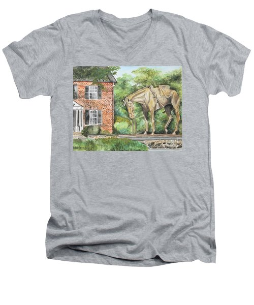 War Horse Memorial Men's V-Neck T-Shirt