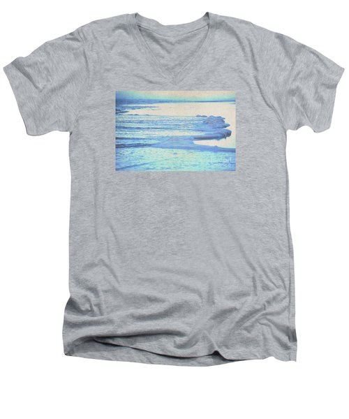 Men's V-Neck T-Shirt featuring the photograph Washed Away by Cynthia Lagoudakis