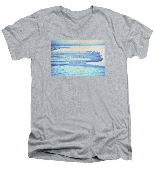 Washed Away Men's V-Neck T-Shirt