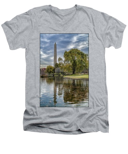 Washington Reflection Men's V-Neck T-Shirt