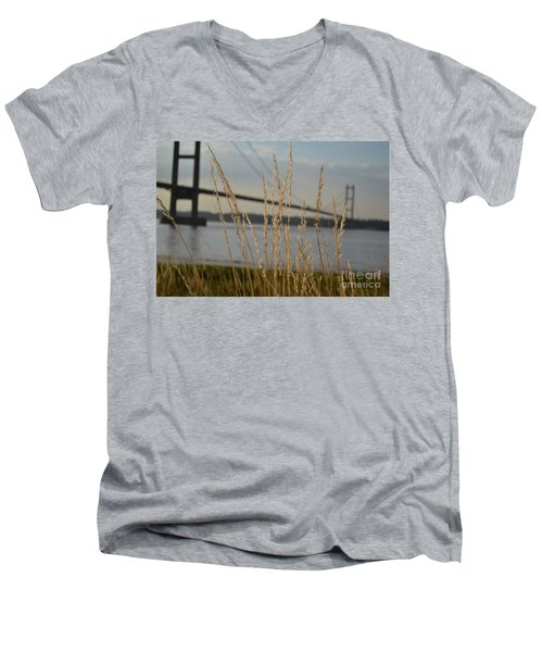 Wasting Time By The Humber Men's V-Neck T-Shirt