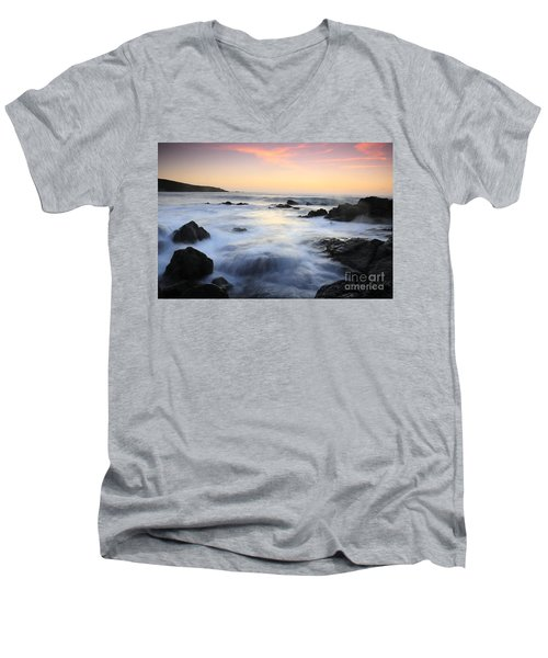 Water And The Sunset Men's V-Neck T-Shirt