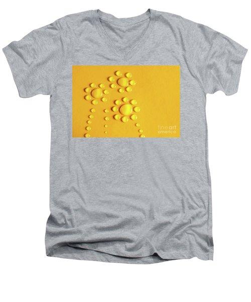 Water Flowers Men's V-Neck T-Shirt