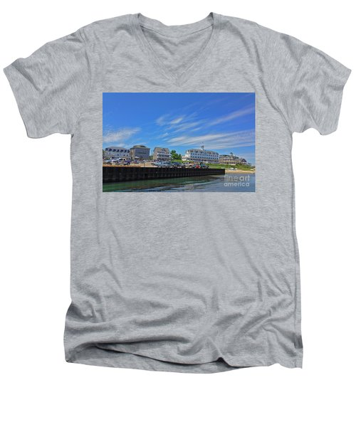 Water Street Block Island Men's V-Neck T-Shirt