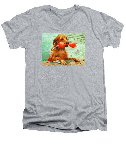 Waterdog Men's V-Neck T-Shirt