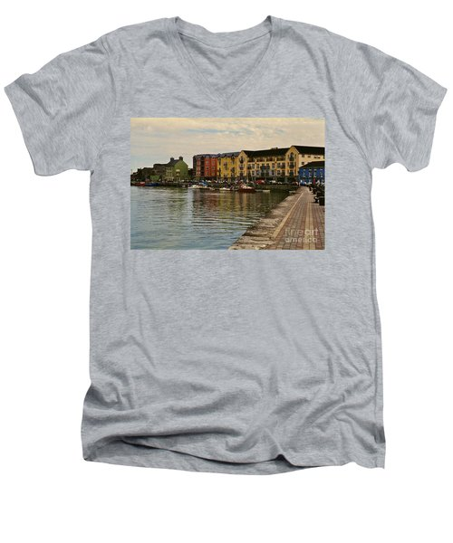 Waterford Waterfront Men's V-Neck T-Shirt