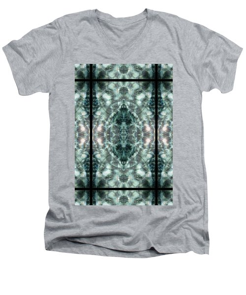 Waters Of Humility Men's V-Neck T-Shirt by Deprise Brescia