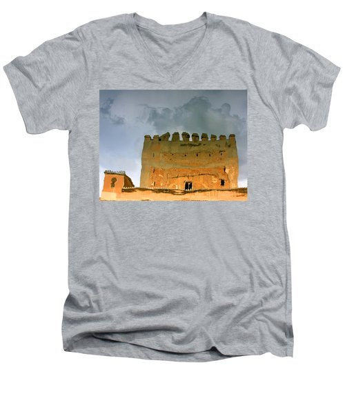 Watery Alhambra Men's V-Neck T-Shirt
