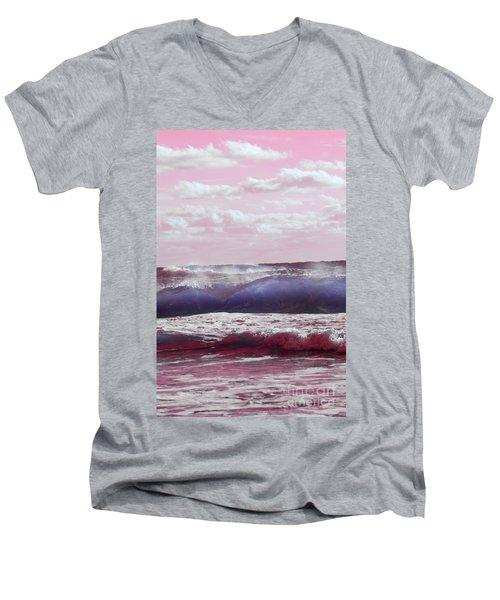 Wave Formation 2 Men's V-Neck T-Shirt