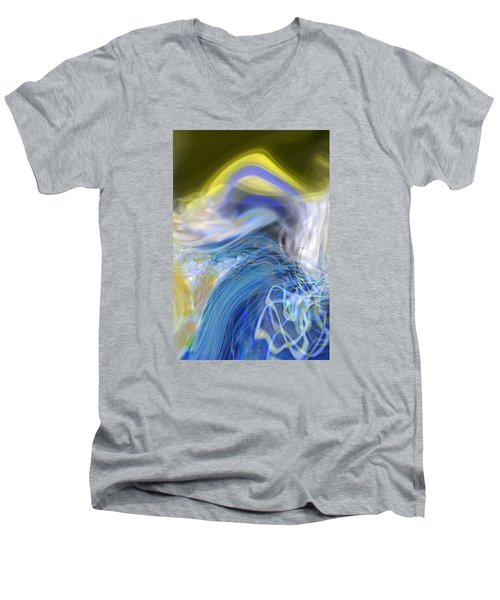 Wave Theory Men's V-Neck T-Shirt