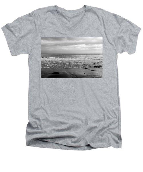 Waves Rolling In  Men's V-Neck T-Shirt