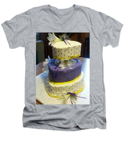 Wedding Cake For May Men's V-Neck T-Shirt