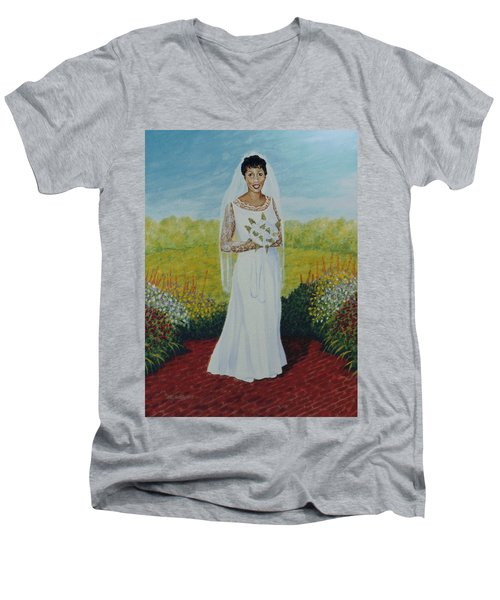 Wedding Day Men's V-Neck T-Shirt
