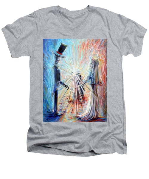 Wedding Photographer Men's V-Neck T-Shirt