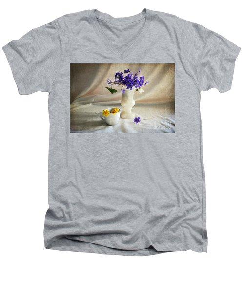 Welcome Spring Men's V-Neck T-Shirt