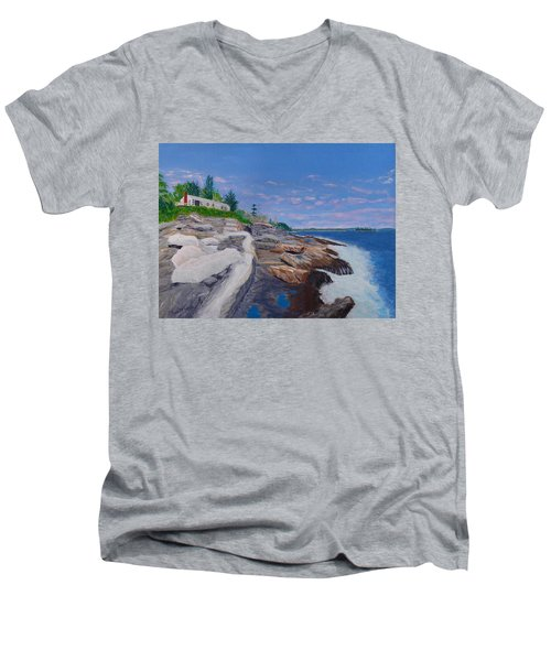 Weske Cottage Men's V-Neck T-Shirt