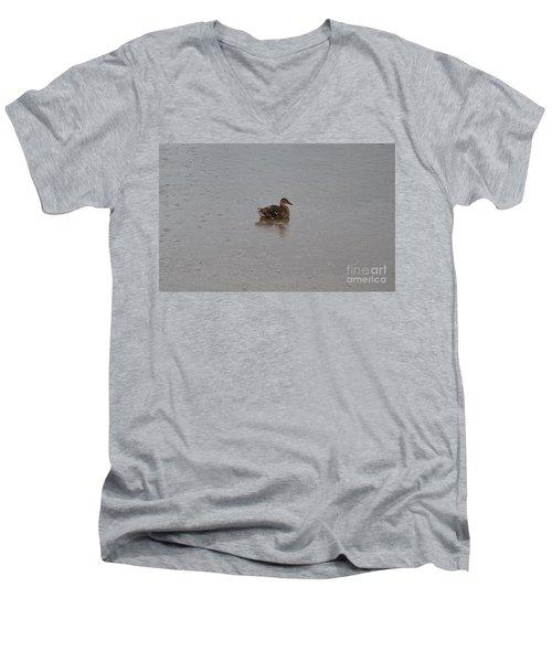 Wet Duck Men's V-Neck T-Shirt