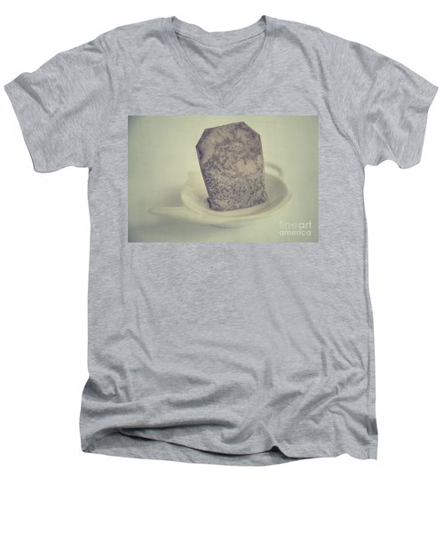 Wet Tea Bag Men's V-Neck T-Shirt