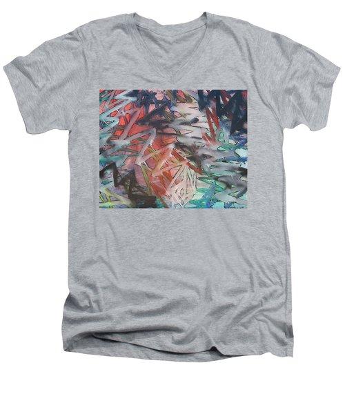 Wham Pow Men's V-Neck T-Shirt