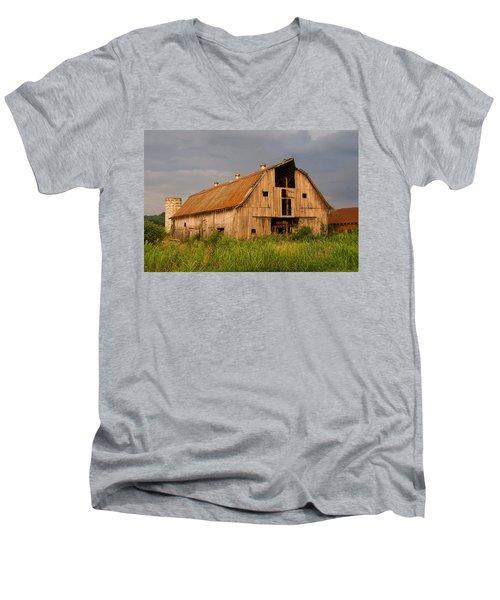 What Happened To The American Dream Men's V-Neck T-Shirt by Chris Flees