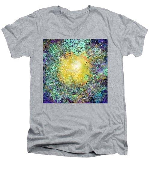 What Kind Of Sun Vii Men's V-Neck T-Shirt by Carol Jacobs