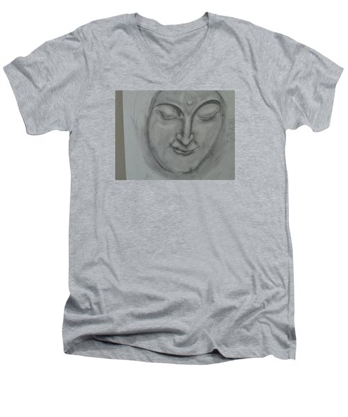 What Must It Be Men's V-Neck T-Shirt by Sharyn Winters
