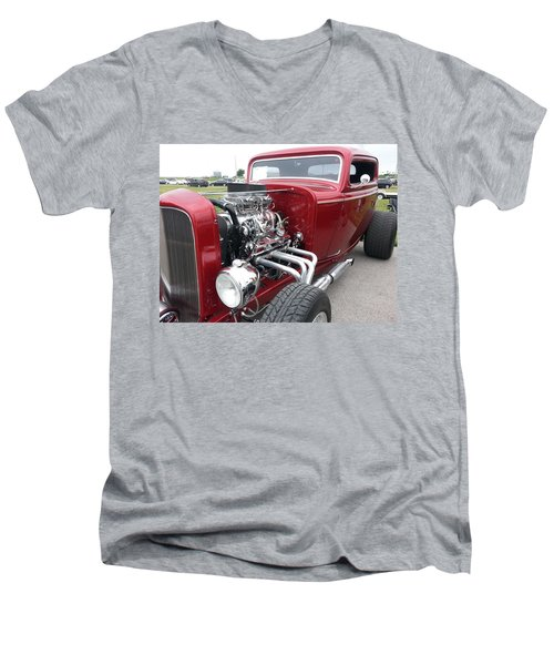 What Pipes Men's V-Neck T-Shirt