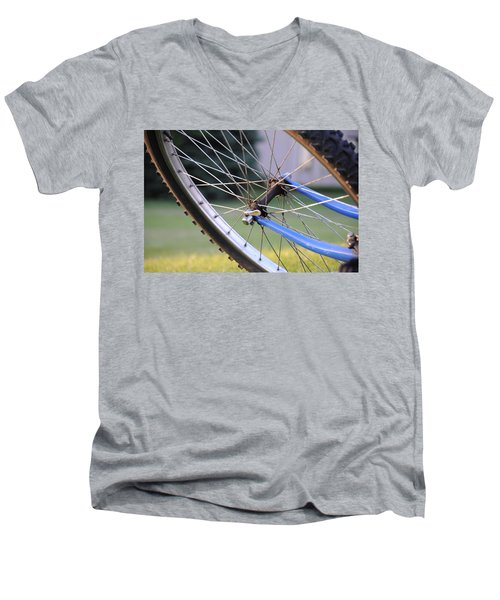 Wheeling Men's V-Neck T-Shirt