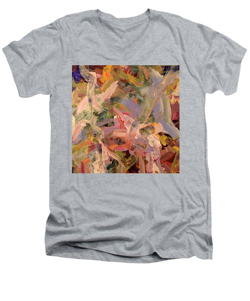 Where I Found You Men's V-Neck T-Shirt by Erika Pochybova