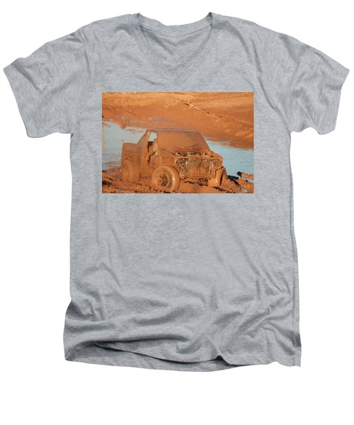 Which Way Men's V-Neck T-Shirt