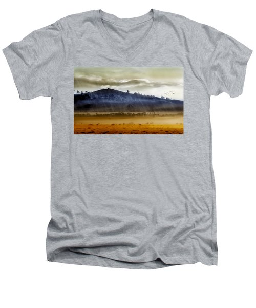 Whisps Of Velvet Rains... Men's V-Neck T-Shirt