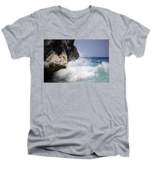 White Water Paradise Men's V-Neck T-Shirt