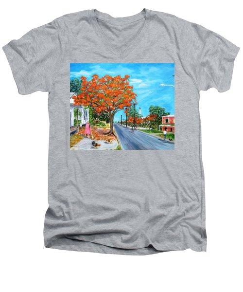 Whitehead Street Men's V-Neck T-Shirt