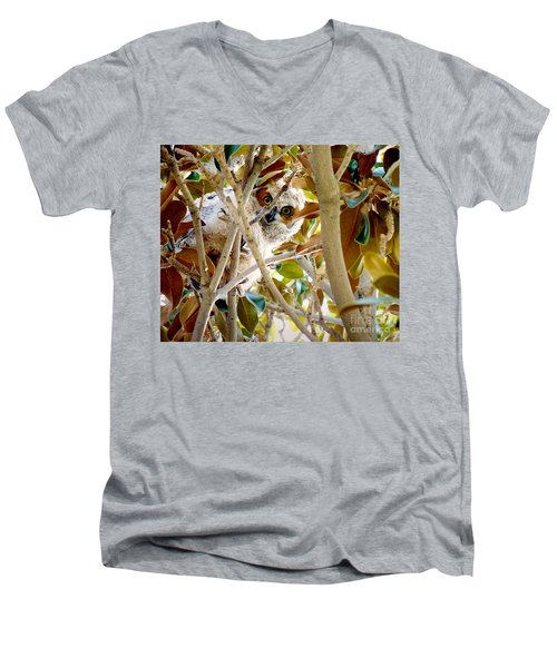 Whooo Are You? Men's V-Neck T-Shirt