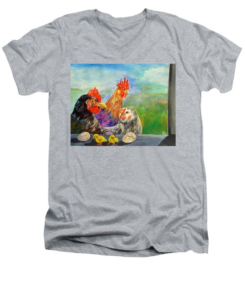 Whose Egg Isthat Men's V-Neck T-Shirt