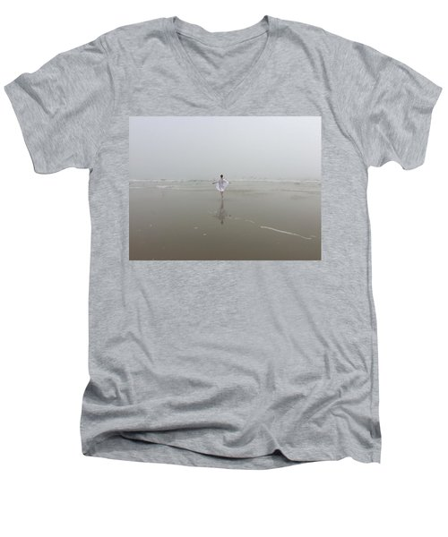 Wilbur By The Sea 1 Men's V-Neck T-Shirt