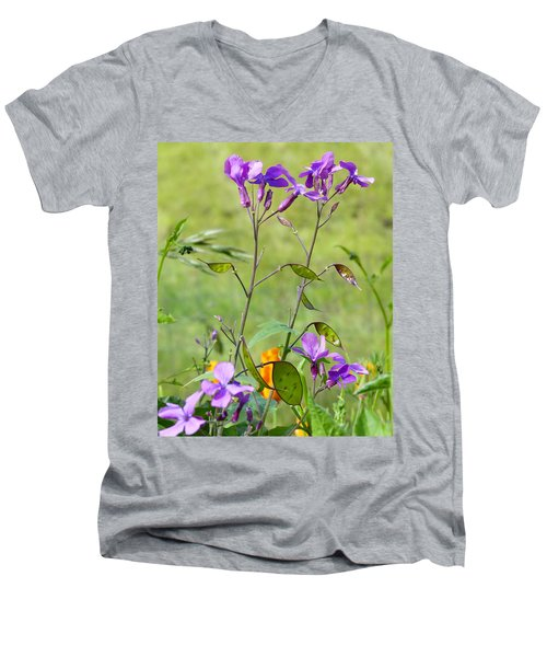 Wildflowers Men's V-Neck T-Shirt