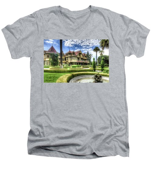 Winchester Mystery House Men's V-Neck T-Shirt