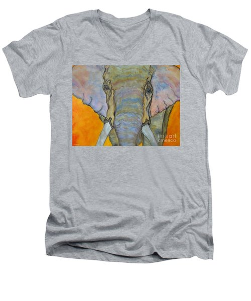 Wind And Fire - Fine Art Painting Men's V-Neck T-Shirt