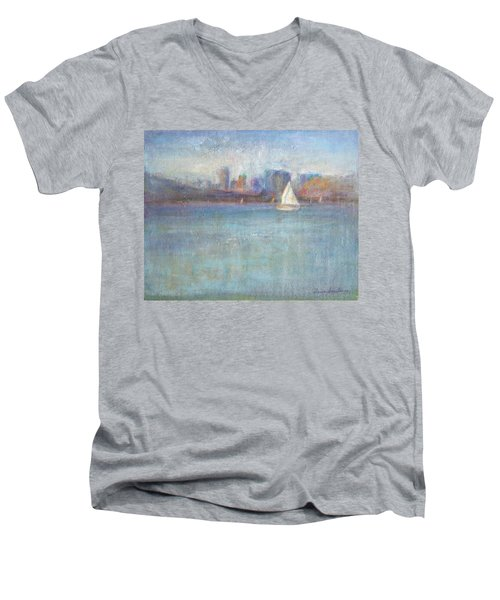 Wind In My Sails Men's V-Neck T-Shirt