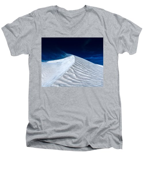 Wind Over White Sands Men's V-Neck T-Shirt
