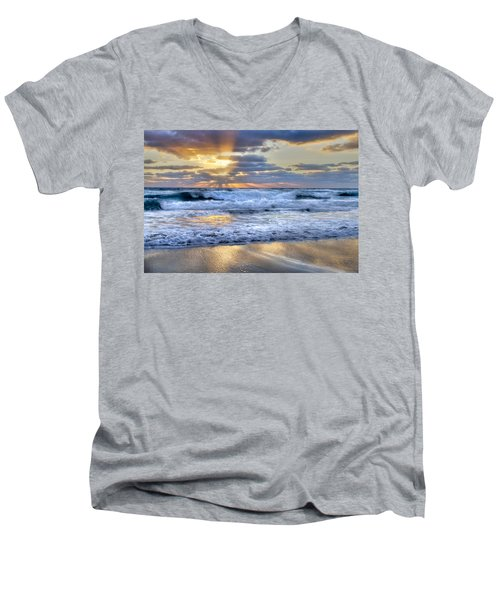 Window To Heaven Men's V-Neck T-Shirt