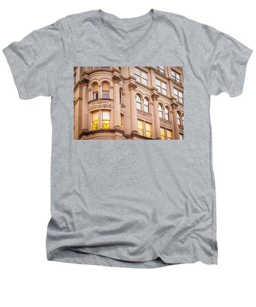 Window To My Heart Men's V-Neck T-Shirt