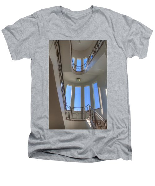 Windows From Below Men's V-Neck T-Shirt