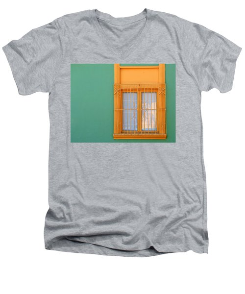 Windows Of The World - Santiago Chile Men's V-Neck T-Shirt