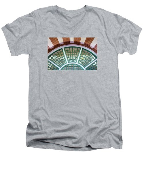 Windows Of Ybor Men's V-Neck T-Shirt