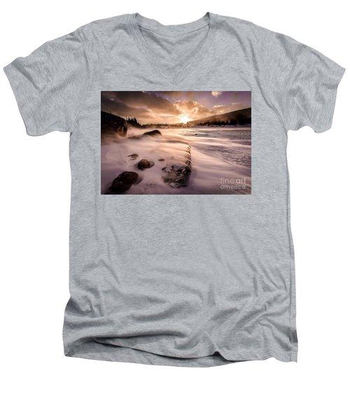 Windy Morning Men's V-Neck T-Shirt
