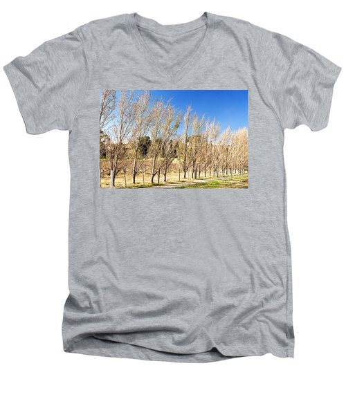 Winery Men's V-Neck T-Shirt