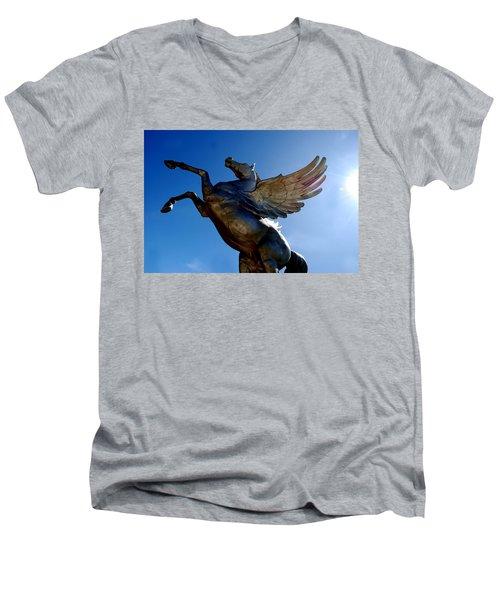 Winged Wonder I Men's V-Neck T-Shirt
