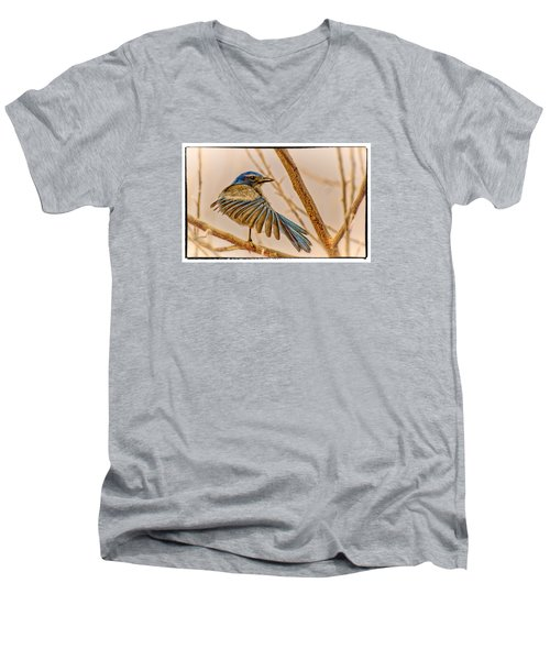 Winging It Men's V-Neck T-Shirt